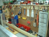 <h5>My Shop</h5><p>My shop was ready and waiting for the RV kit to arrive to its new home.</p>
