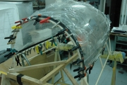 <h5>Gluing the canopy</h5>