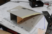 <h5>Building the Flaps</h5><p>I build a flaps fake to find the right cutting and flaps to fuselage adjustments </p>