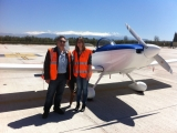 <h5>Black Carbon Experts</h5><p>Lucas Alados and Gloria Titos from CEAMA , who lead the black carbon project, are meeting the RV8 at Granada airport.  They are the key of this scientific study</p>