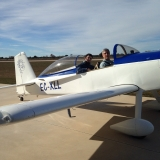 <h5>Carlos' Flight</h5><p>My son Carlos also flew the RV. He enjoyed the flight and the roll.</p>