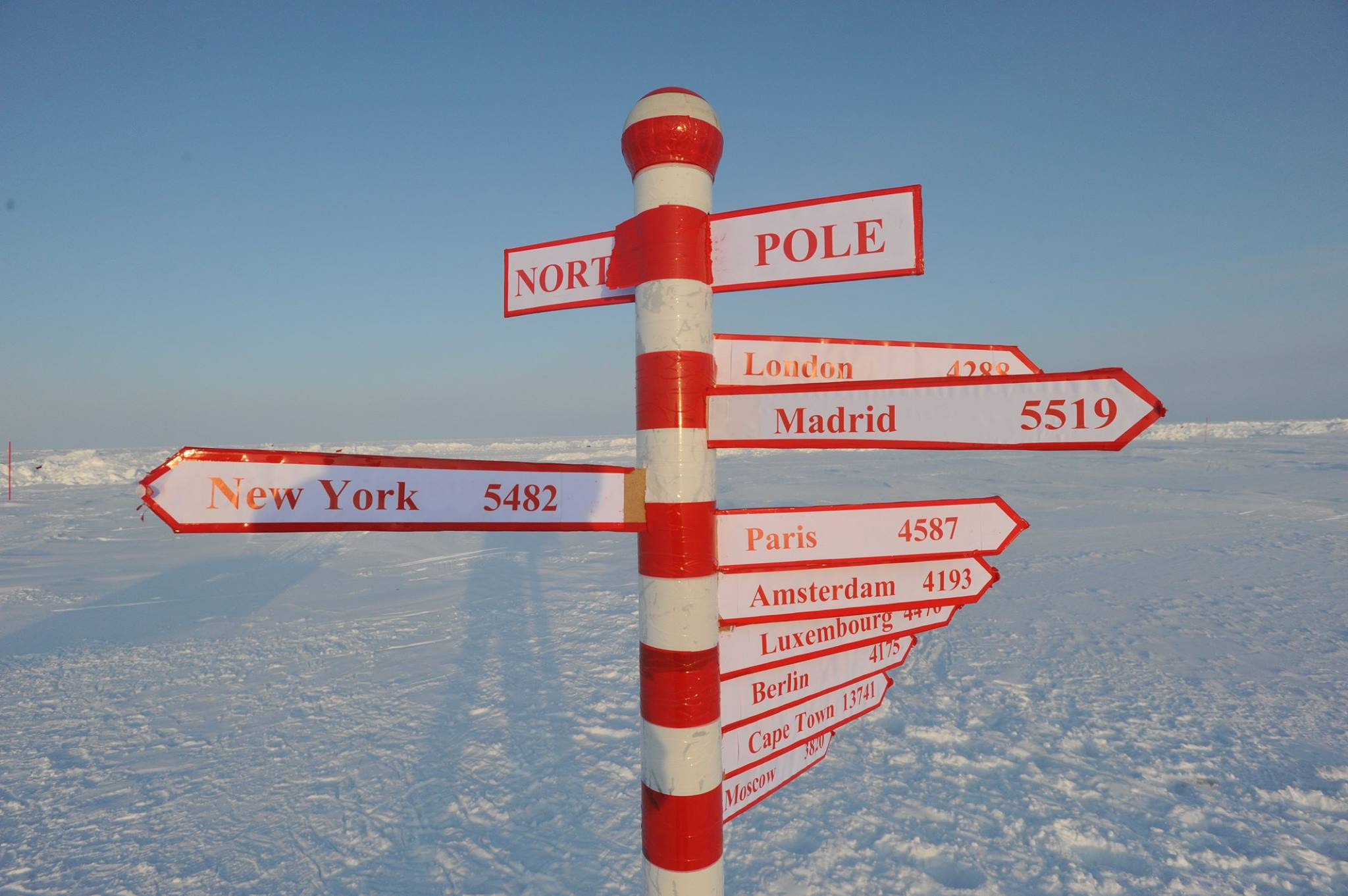 Image result for North Pole Sign